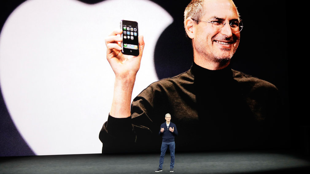 Apple Inc today celebrates the anniversary of the first iPhone with a new, top-of-the-line model. (AAP)