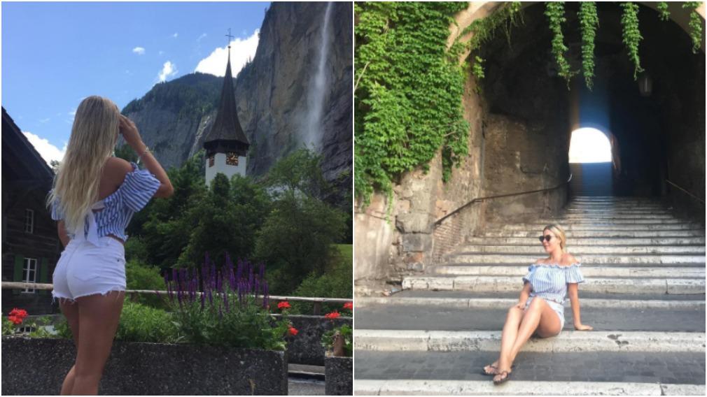 Ms Keller had recently documented her overseas travels on social media. (via Instagram)