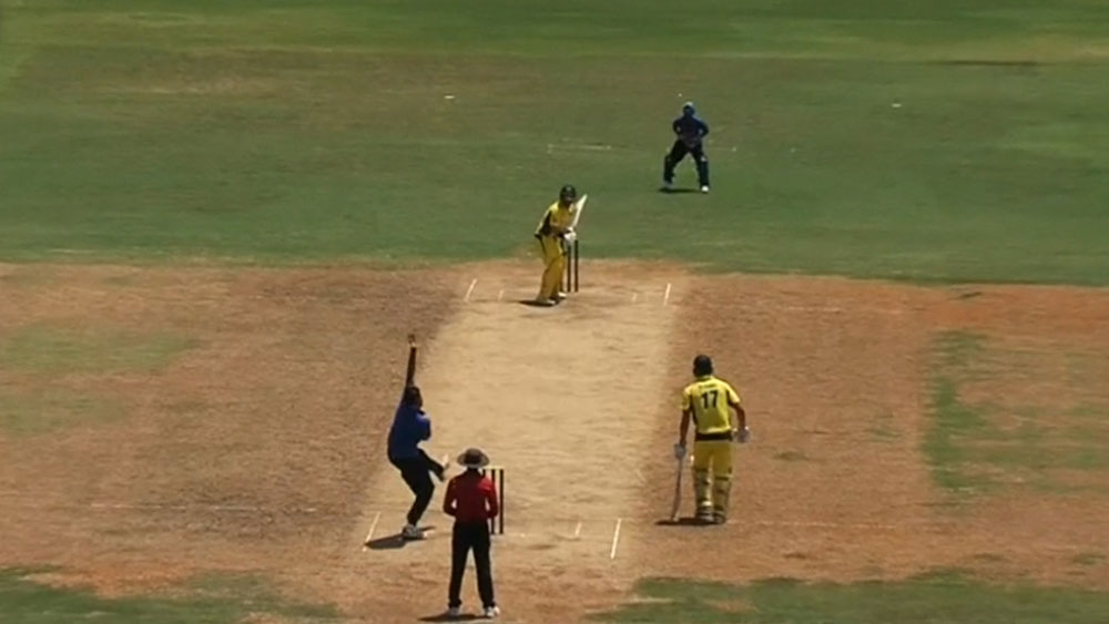 Australian vs India Board President's XI in Chennai.