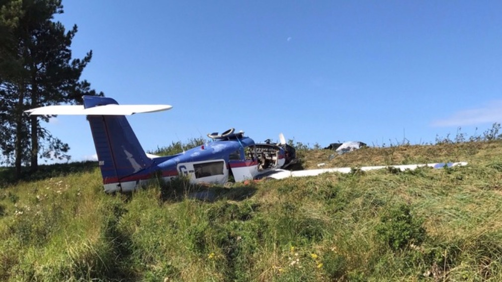 Two dead in plane crash at Queen's estate