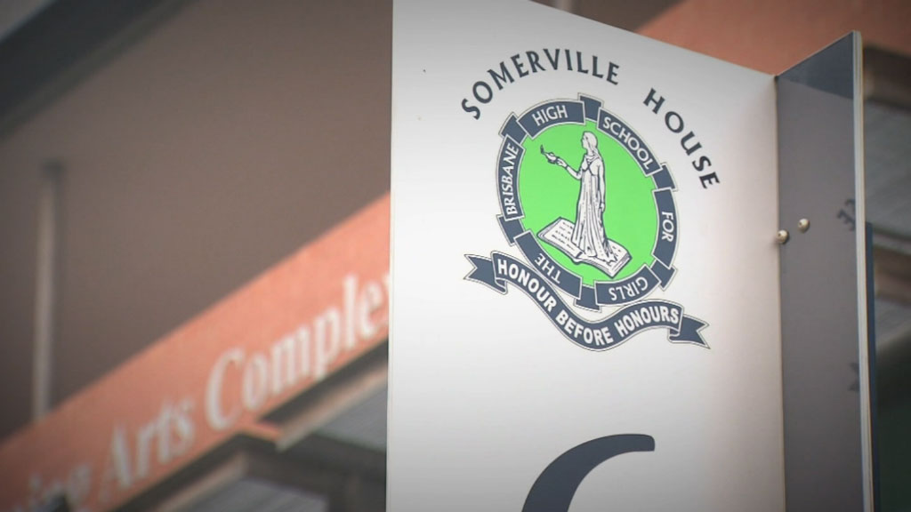 Somerville House was established in 1899 and is a day and boarding school for girls from Prep to Year 12. (9NEWS)