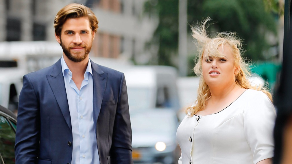 Ms Wilson is currently filming with Liam Hemsworth in New York City
