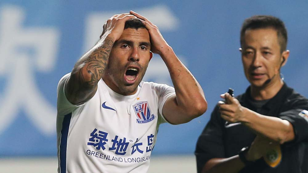 Carlos Tevez has been labelled overweight