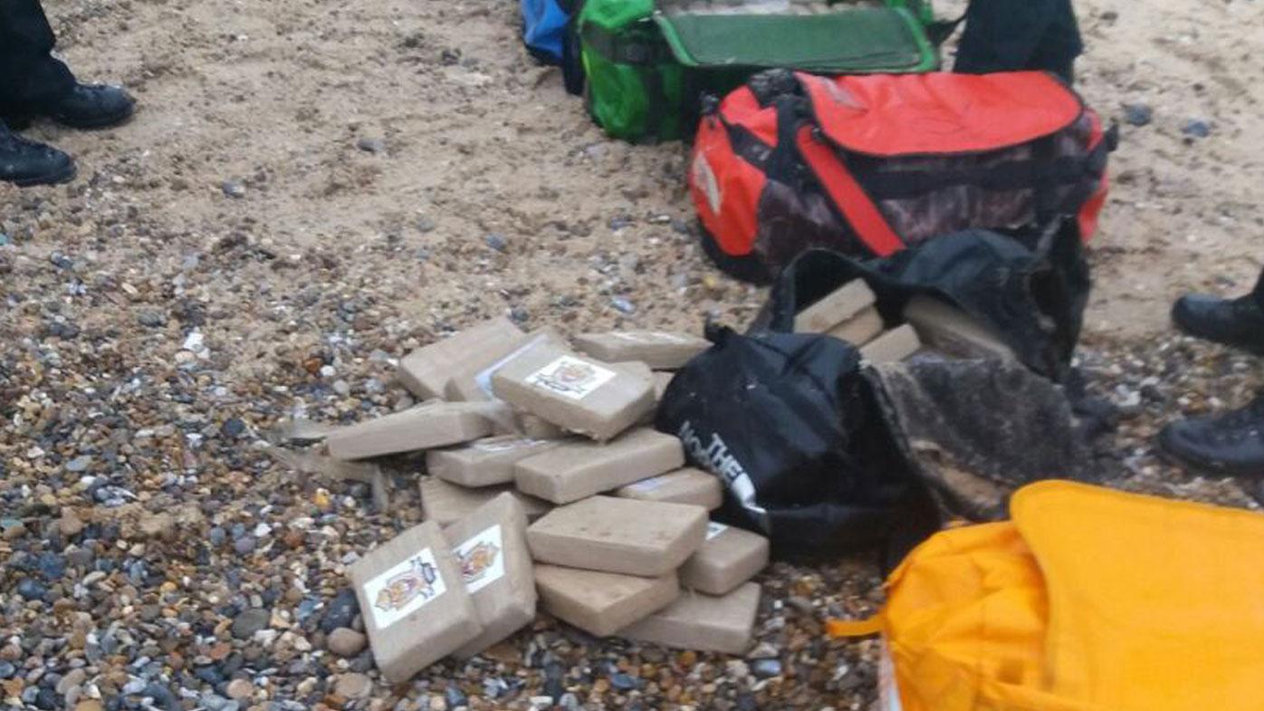 Beach forager stumbles across $83m cocaine haul