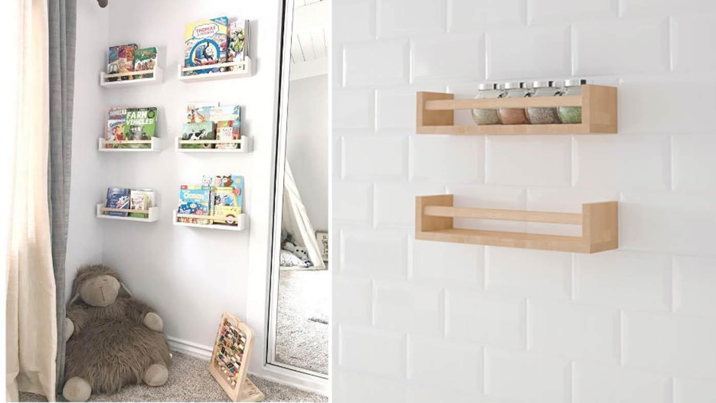 Mum Creates Kid 39 S Reading Nook Using 4 Ikea Spice Racks