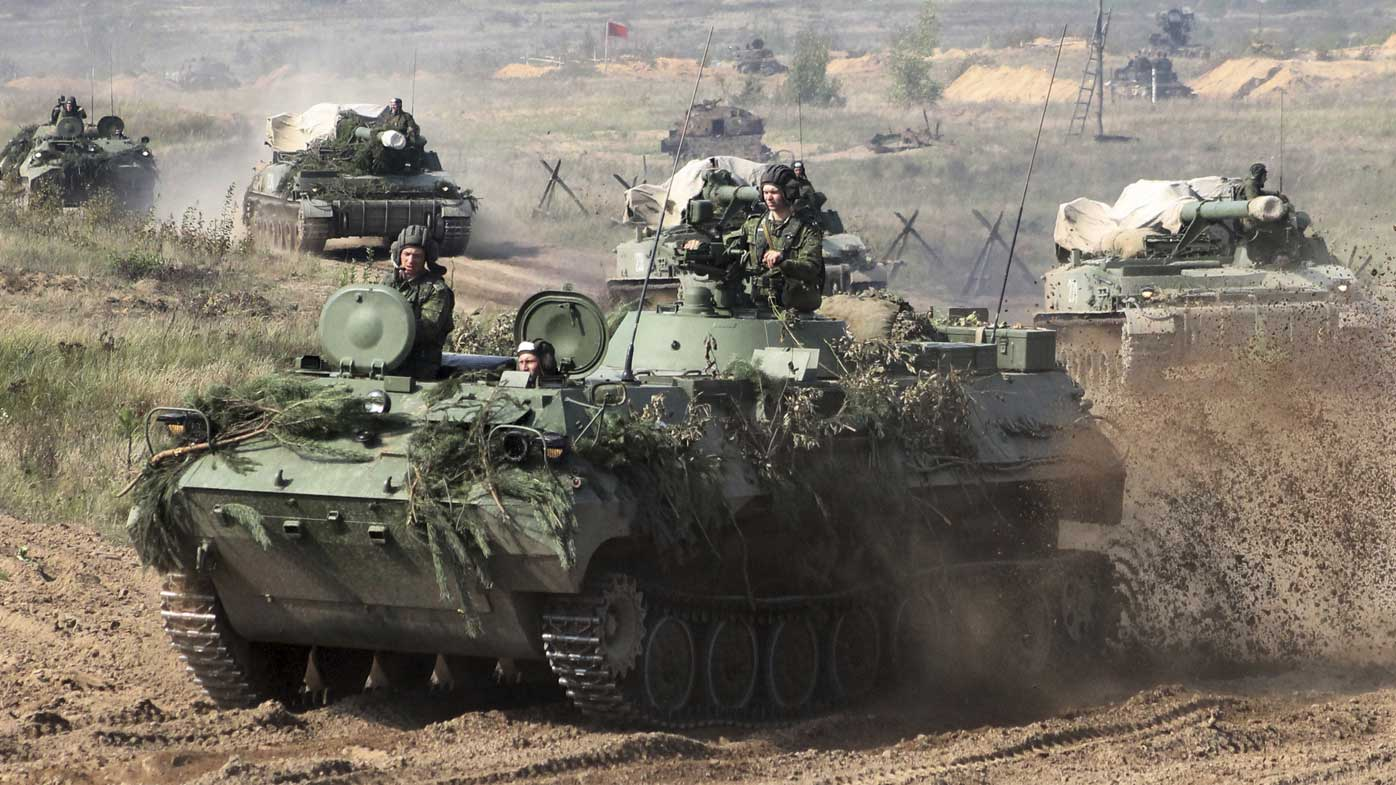 Russia to launch war games on NATO's eastern flank