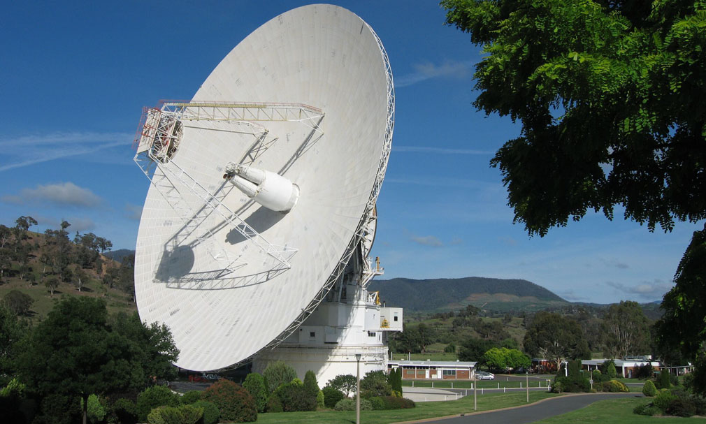 The Canberra Deep Space Complex is assisting with the mission. (AAP)