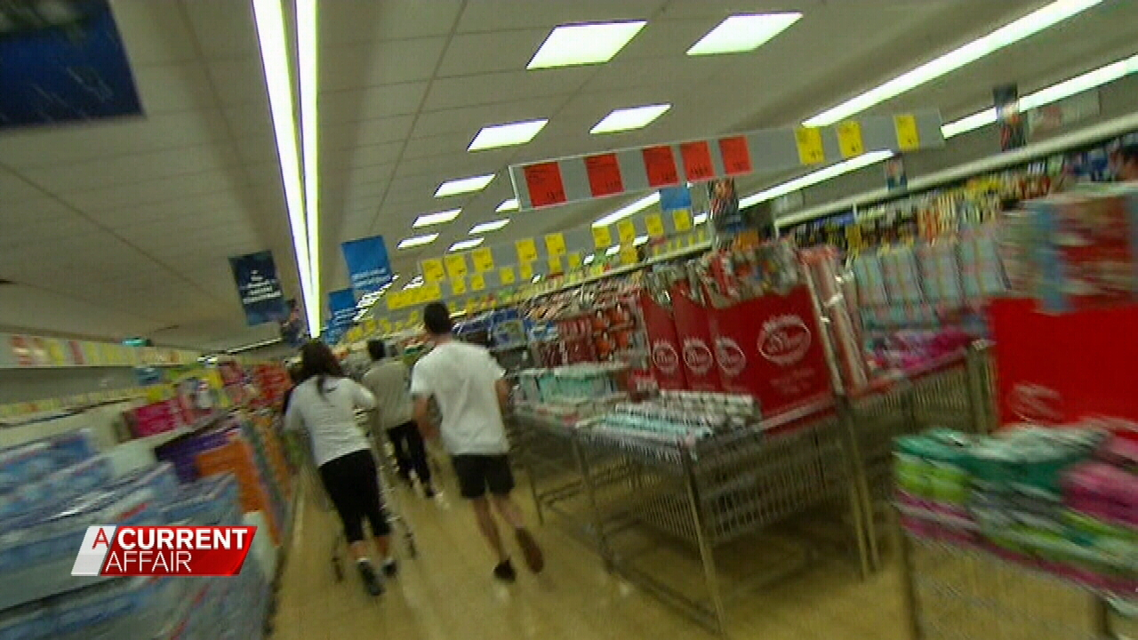 Shoppers get in early for the Special Buys.