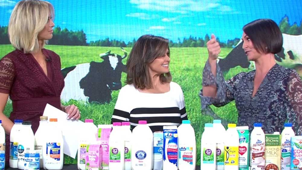 Today show's milk audit