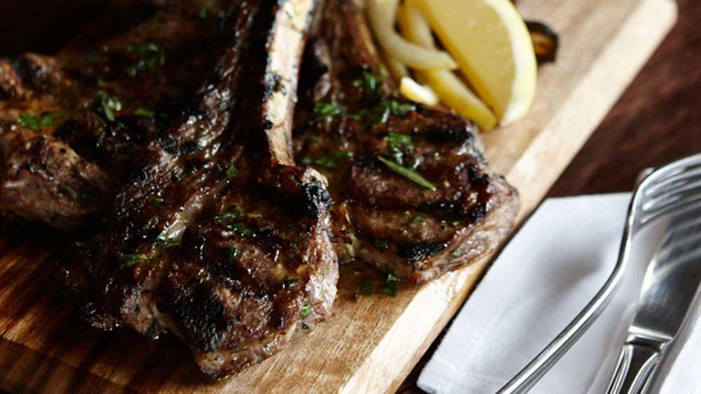 Popolo's famous lamb chops