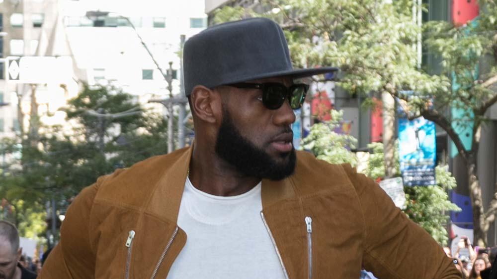 LeBron James in Toronro