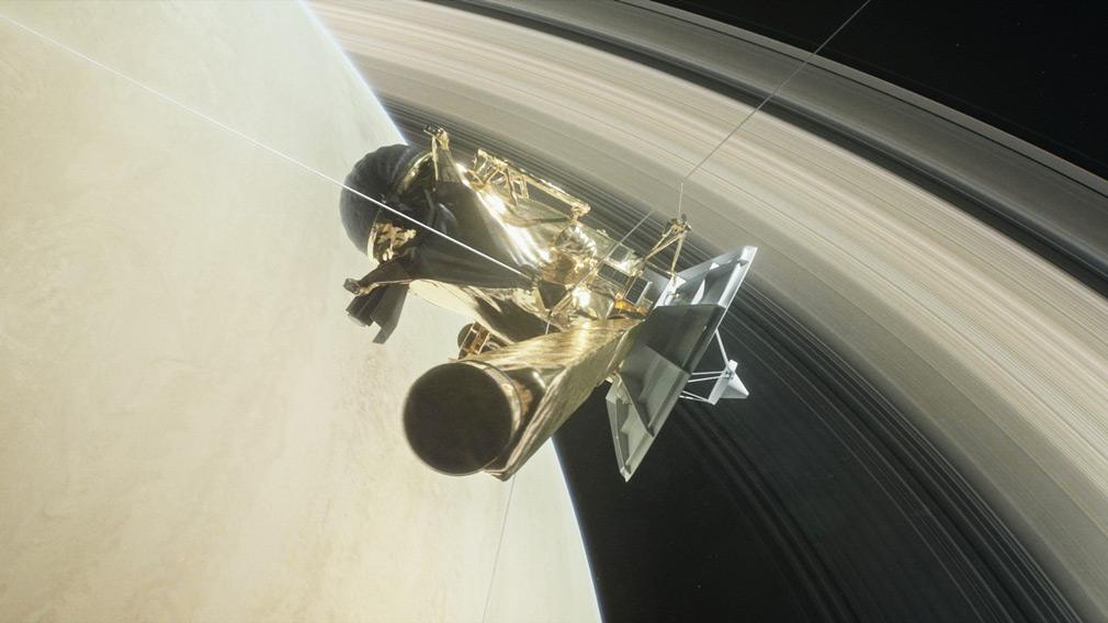 An artist's rendering of Cassini. (NASA)