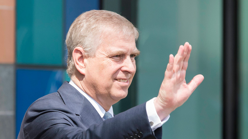 Duke of York visits the Francis Crick Institute in London, UK on July 14. (AFP)