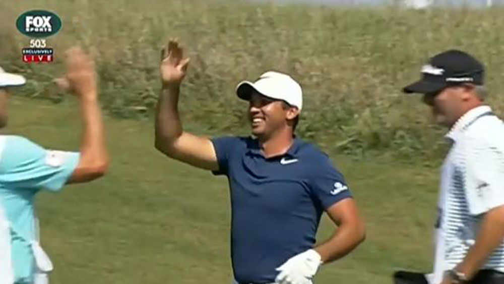 Jason Day had a shot to remember in Chicago. (Fox Sports)