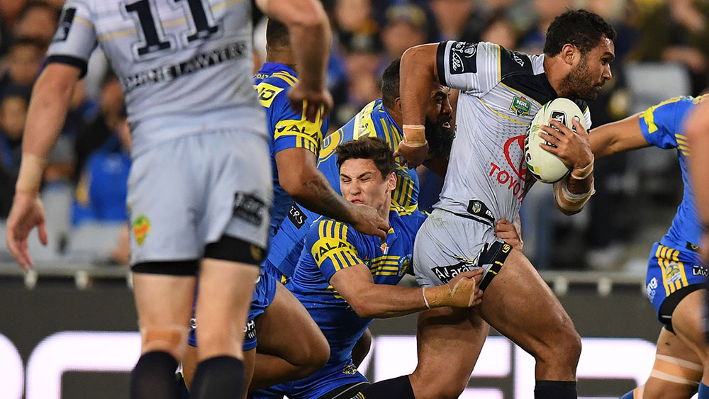 The Cowboys have beaten the Eels in their NRL semi final. (AAP)