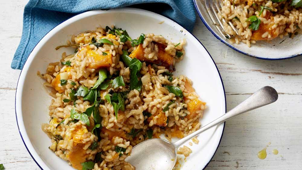 Scott Gooding's 'no regrets' pumpkin risotto recipe