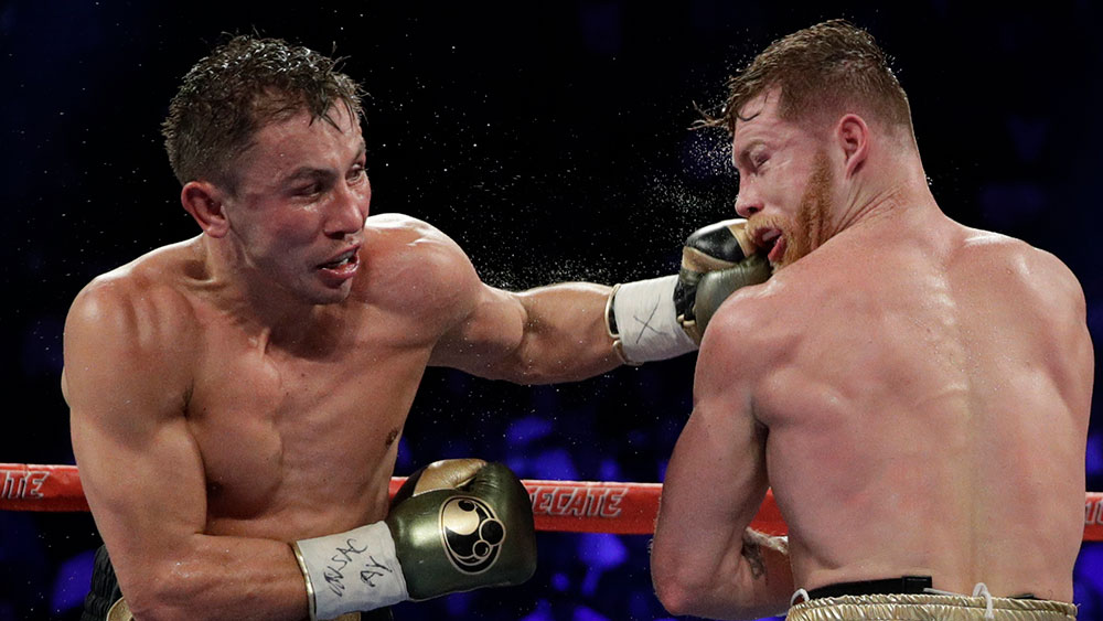 Canelo Alvarez and Gennady Golovkin fought out a draw.