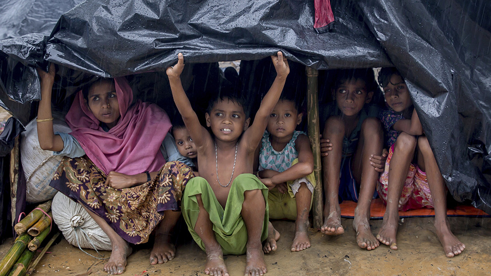 Several countries urge Myanmar to end violence against Rohingyas