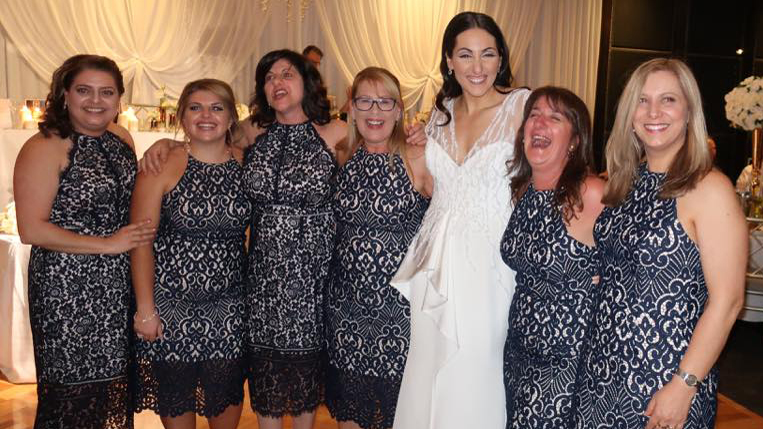 The wedding where the bride's dress didn't steal the show