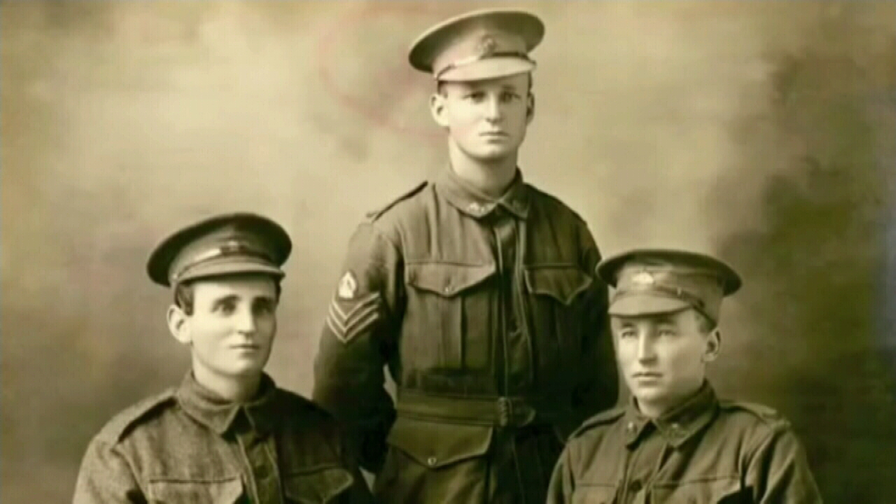 Three brothers killed on the same day in WWI one century ago
