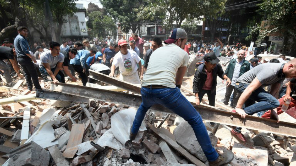 At least 65 dead in 'nightmare' Mexico City quake