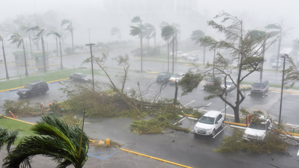 Entire island of Puerto Rico without power amid Hurricane Maria