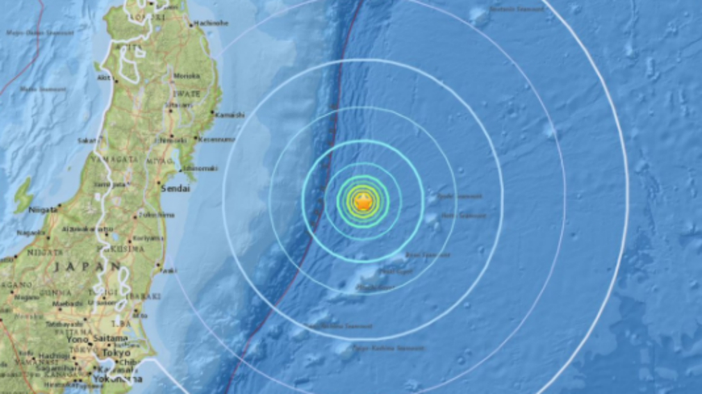 M6.1 natural disaster  strikes off coast of Japan