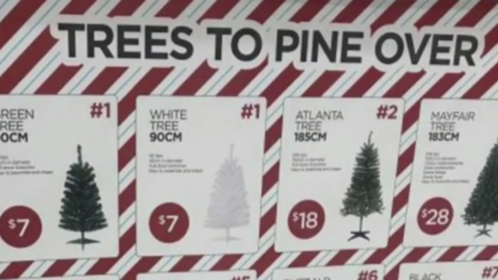 Shoppers outraged after BIGW removed references to Christmas from its tree packaging