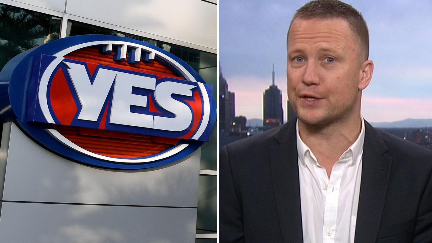 YES logo pulled down as same-sex marriage debate turns 'nasty'