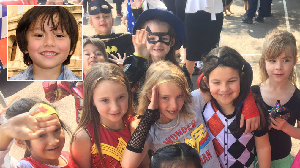 Julian's friends pay tribute to Barcelona terror victim
