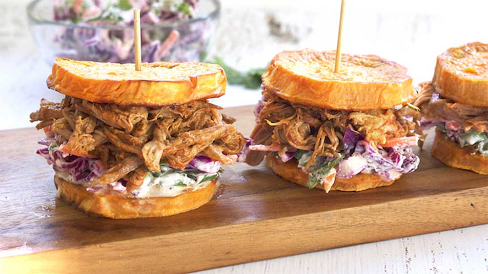 Live Love Nourish's pulled beef sliders recipe
