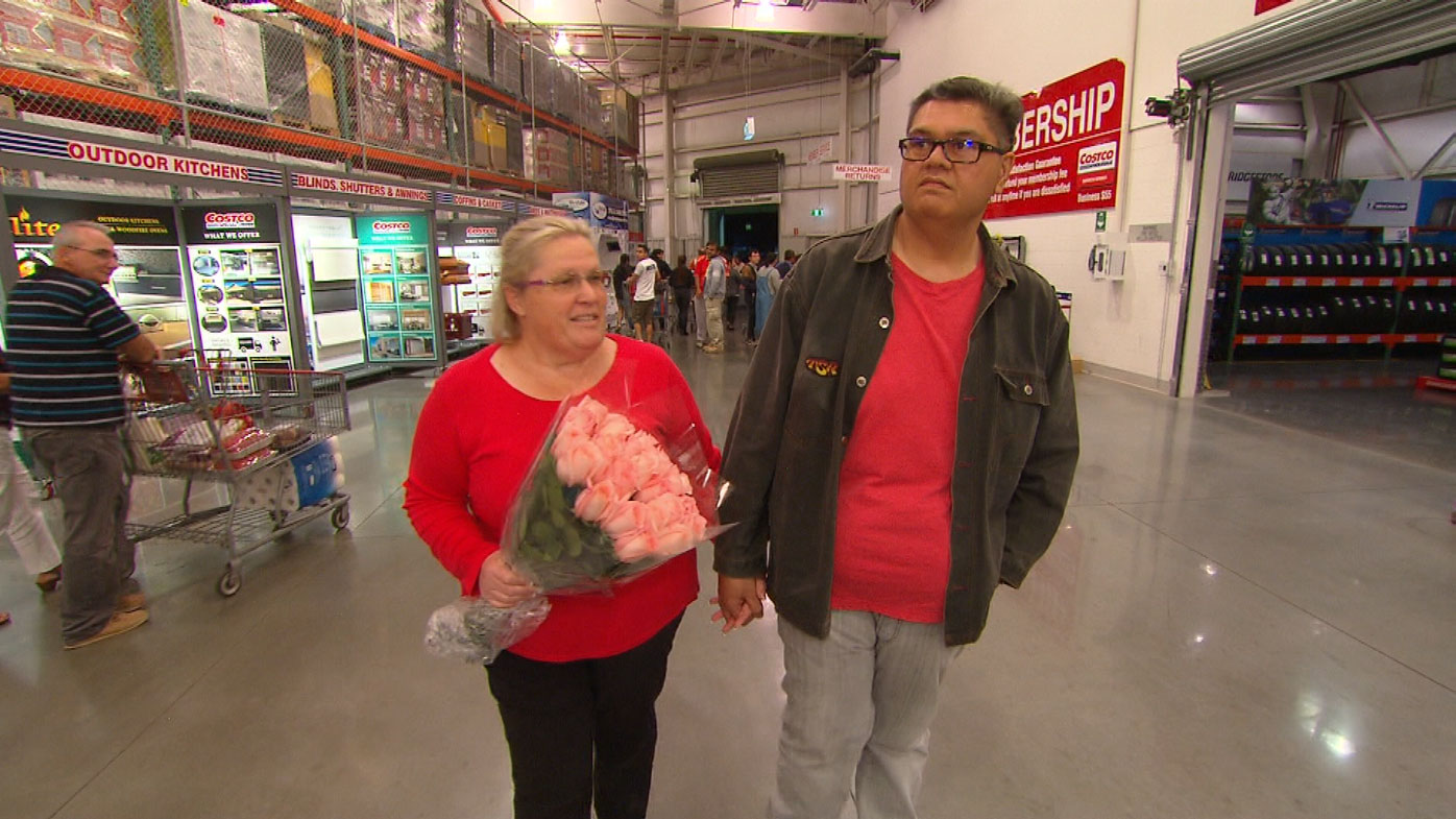 Costco couple getting married at superstore