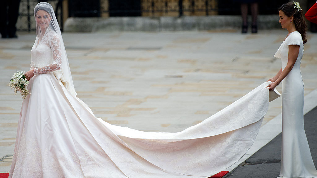 Did you know Kate Middleton had another wedding dress she changed into?