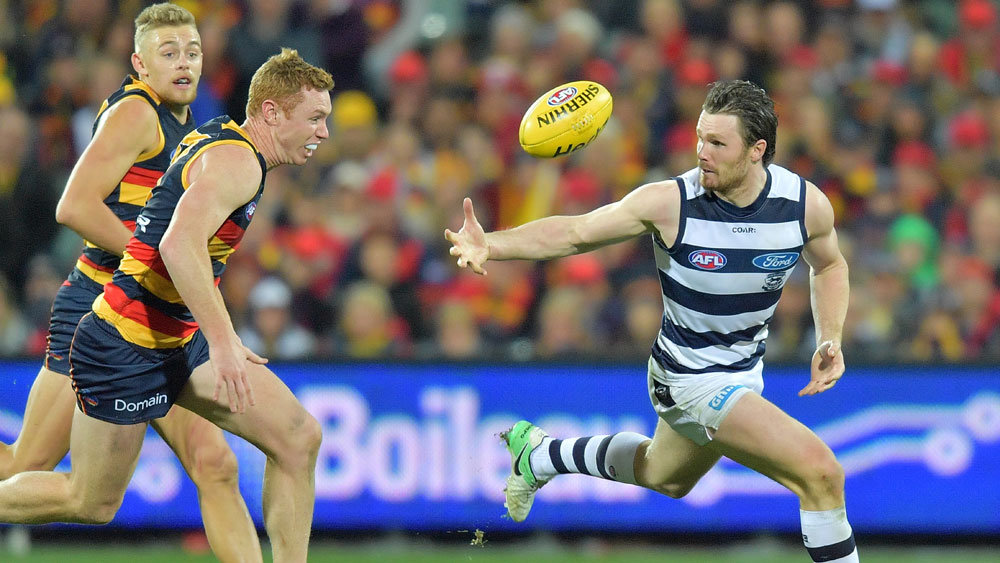 Patrick Dangerfield will cause the Crows plenty if problems.