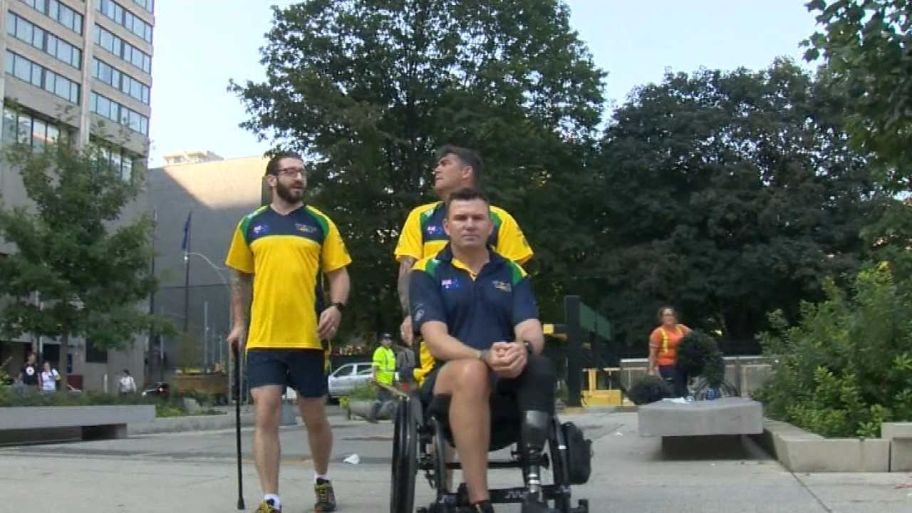Aussies go for gold at Invictus Games in honour of mates lost
