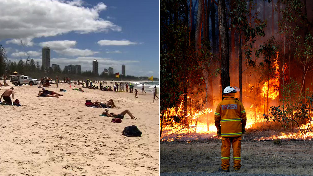 Bushfire risk extreme as east coast temperatures soar