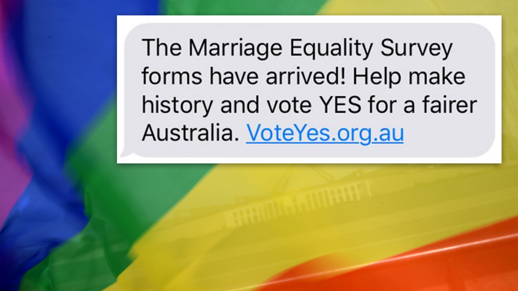 'Vote yes' text messaging campaign sparks privacy concerns