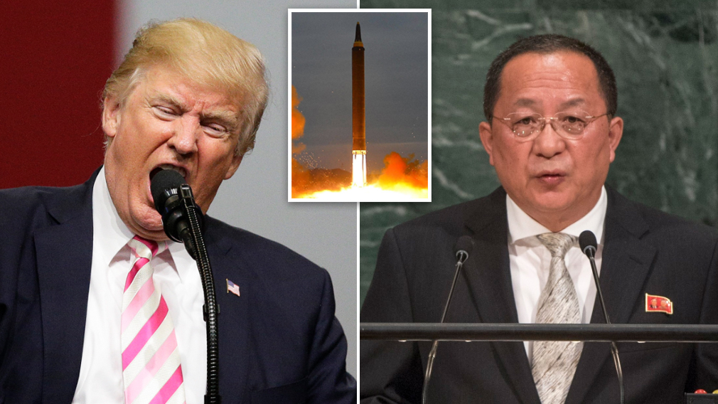 North Korea says rocket attack on US is 'inevitable' after Trump insult