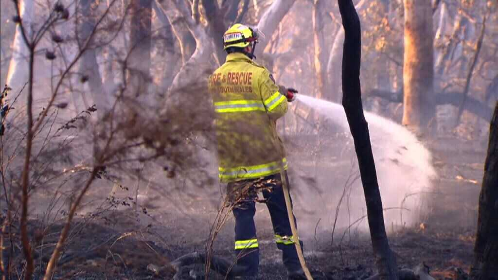Fire crews on high alert as temperature records tumble