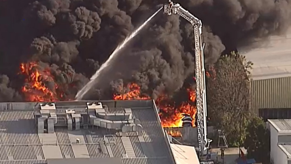 PSPA declared - factory fire in Virginia, QLD