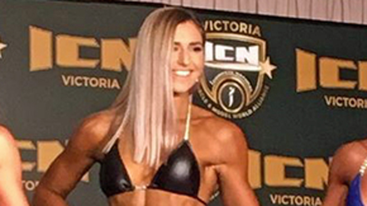 Tony Abbott's daughter makes bodybuilding debut