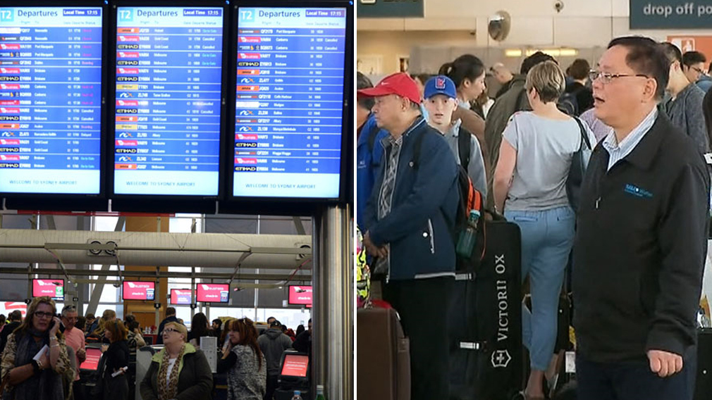 Sydney Airport delays causing national flight woes