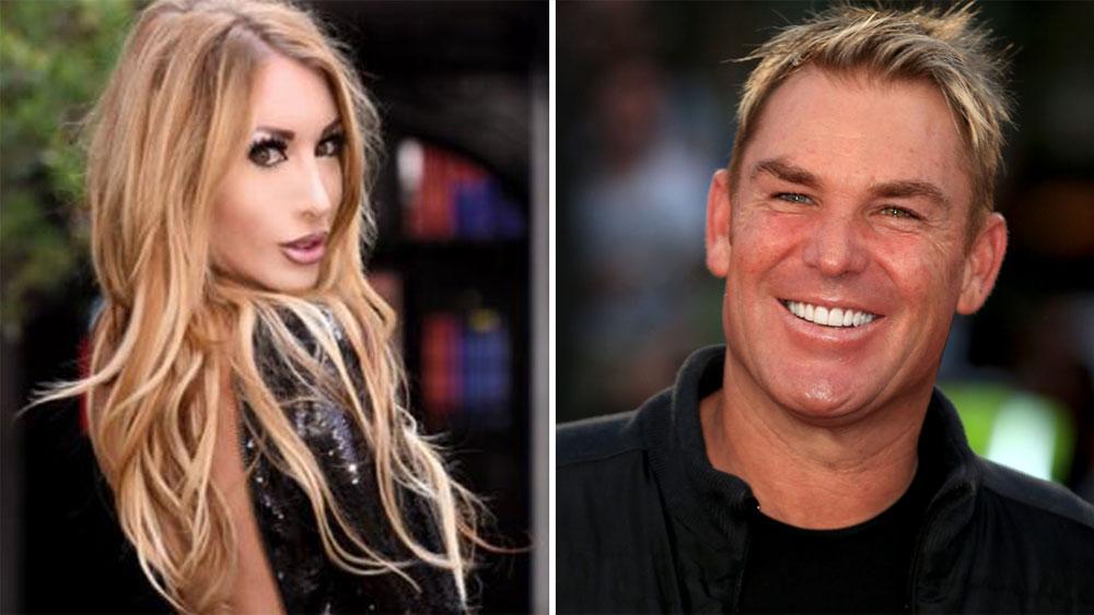 Shane warne has sex with 1000 women
