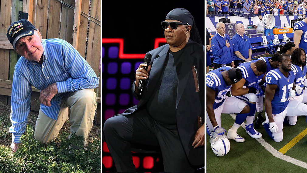 Now Stevie Wonder joins the NFL anti-Trump protests