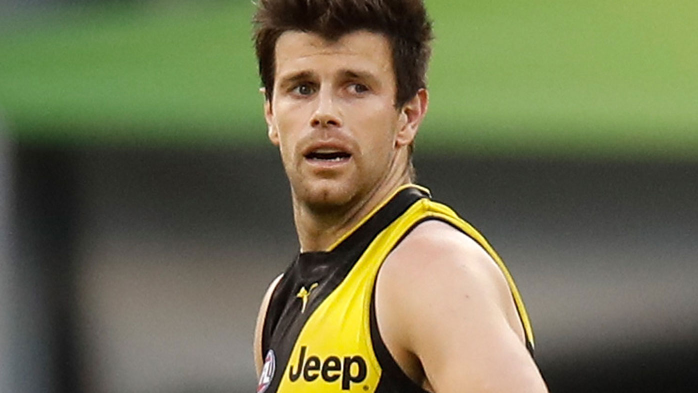 Tigers skipper Trent Cotchin learns his grand final fate
