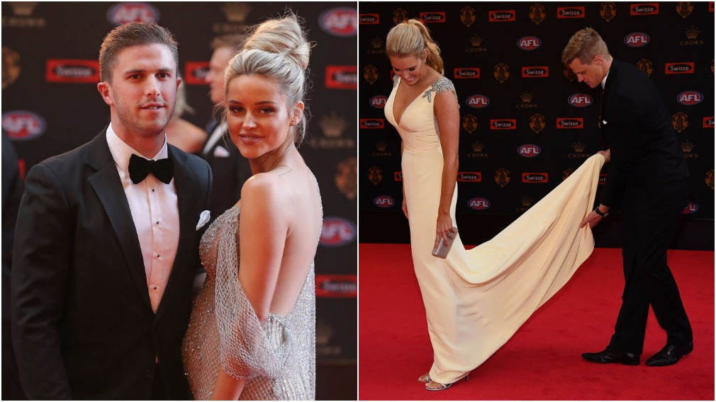 All the glamour from the Brownlow red carpet