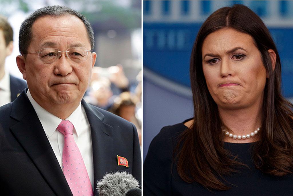North Korea war declaration claim is 'absurd'