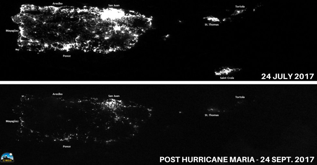 How Hurricane Maria turned out the lights in Puerto Rico