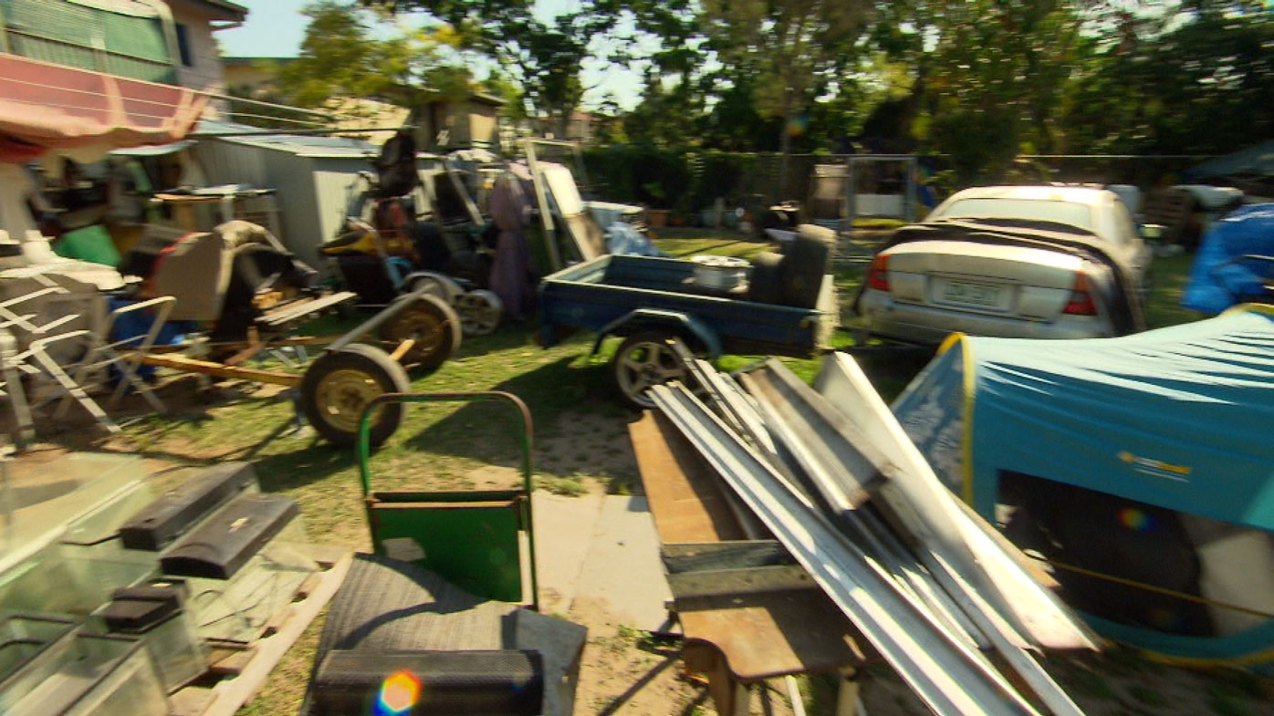 Collector who can't get into her bedroom resorts to 'biggest garage sale'