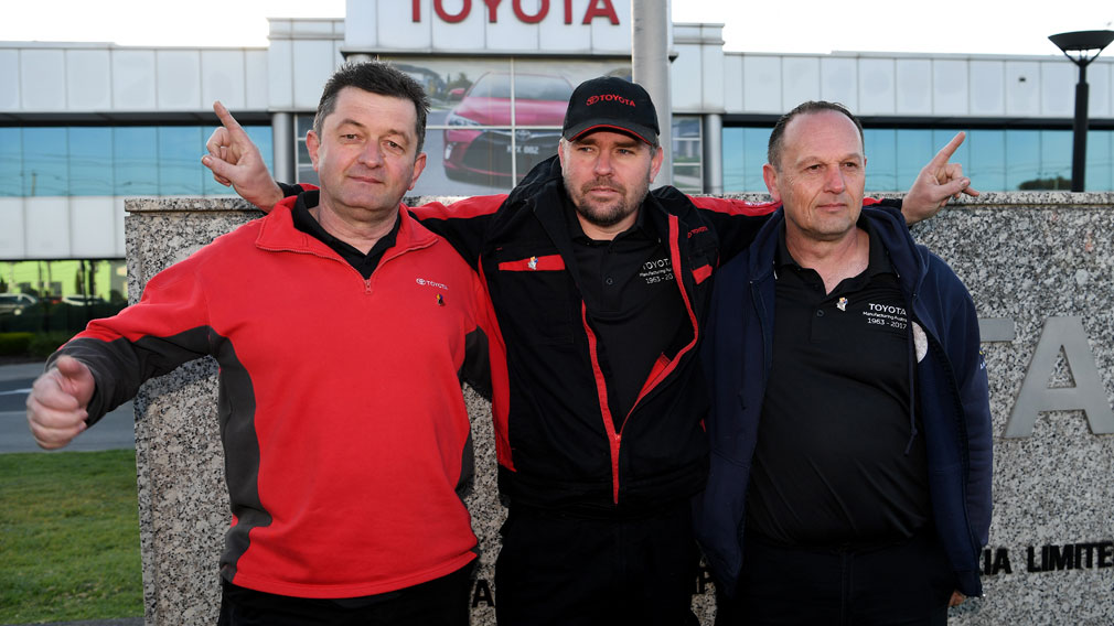 Toyota rolls vehicle manufacturing out of Vic